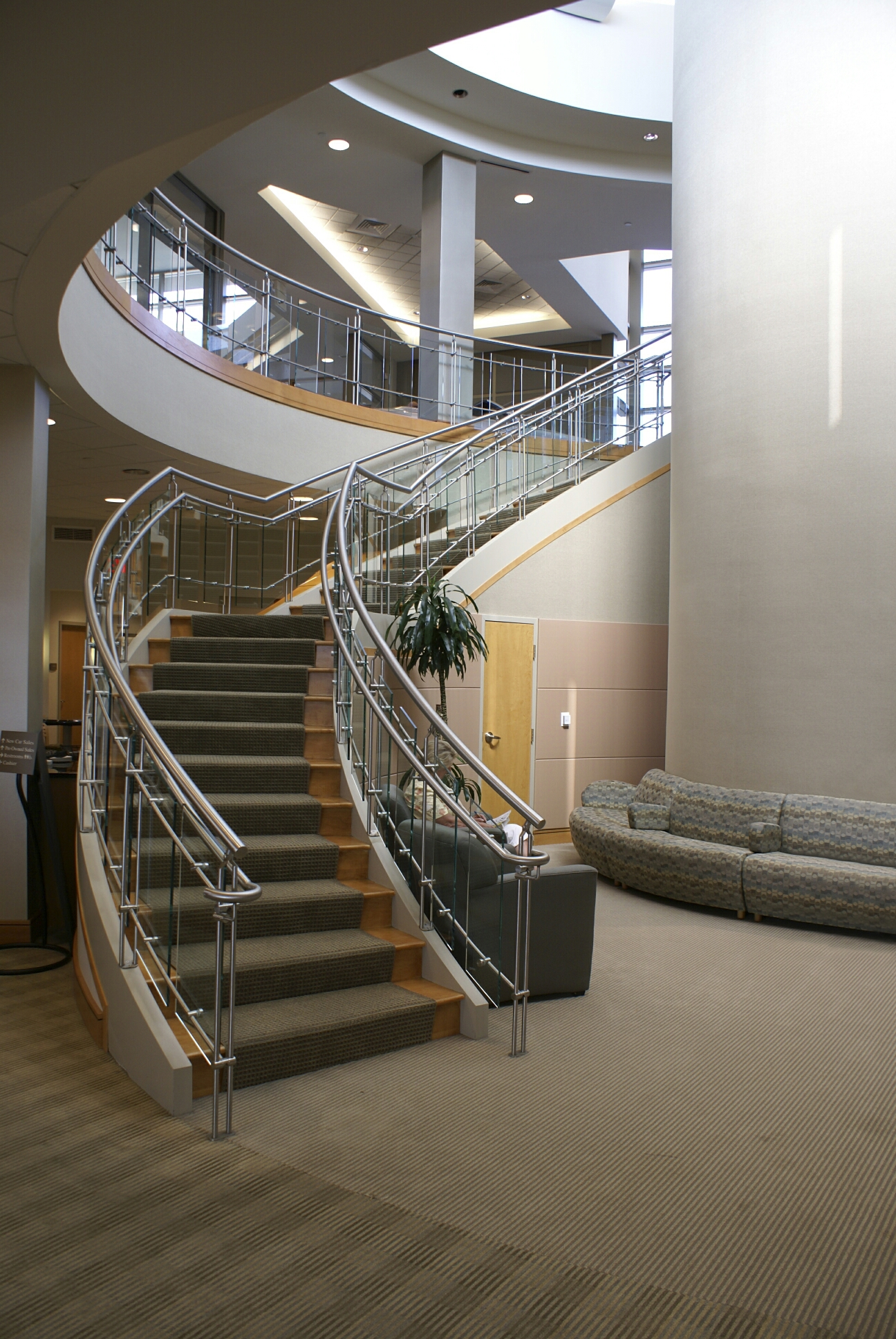 Staircase architecture artistic stairs for Architecture spiral staircase