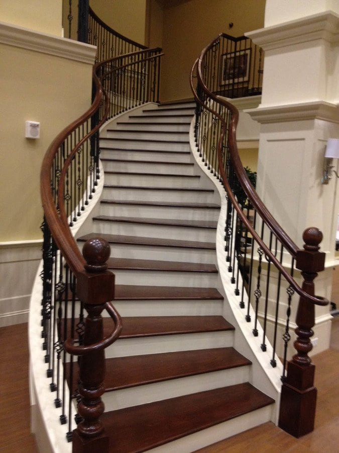 Commercial Curved Staircase