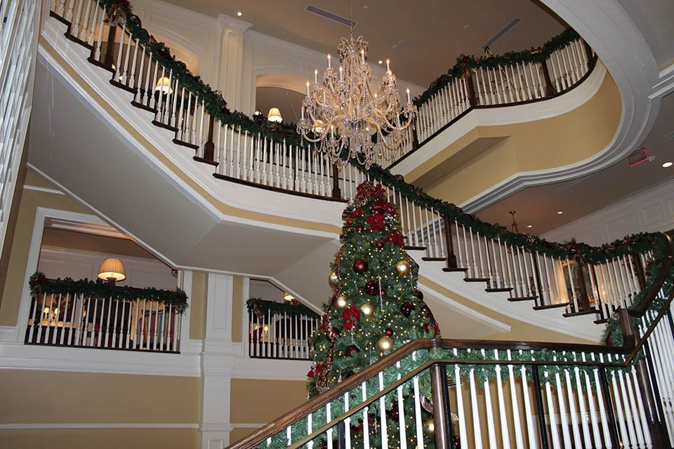 Commercial Stair Design christmas