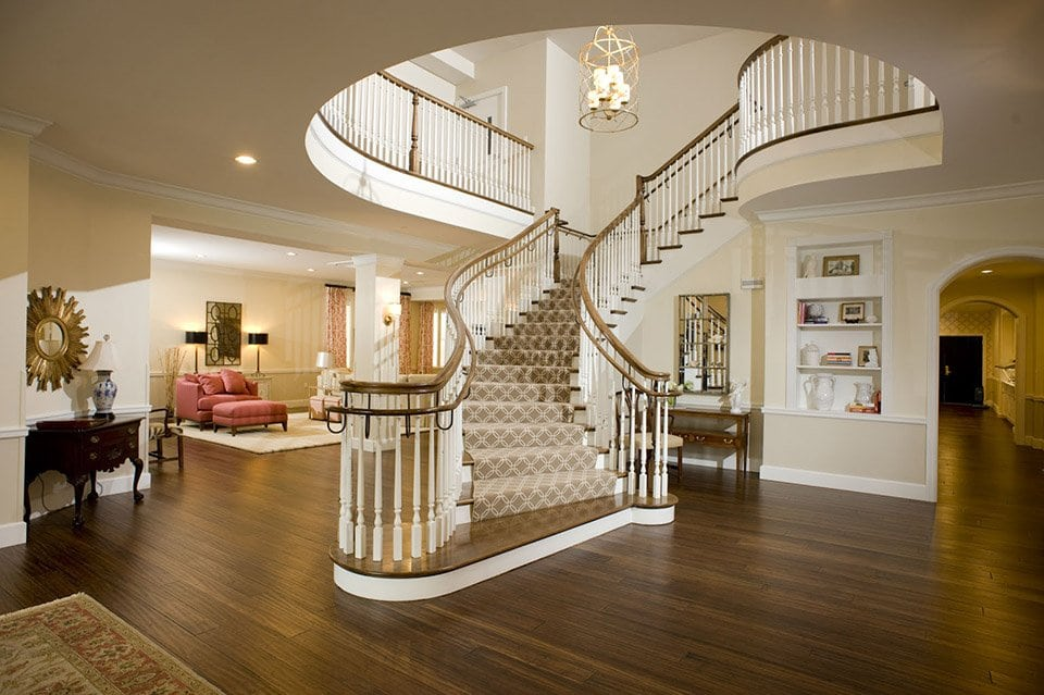 Traditional Commercial Stairs