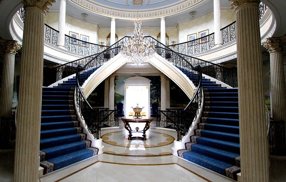 Luxury staircases residential design artistic stairs - Give home signature look elegant balustrades ...