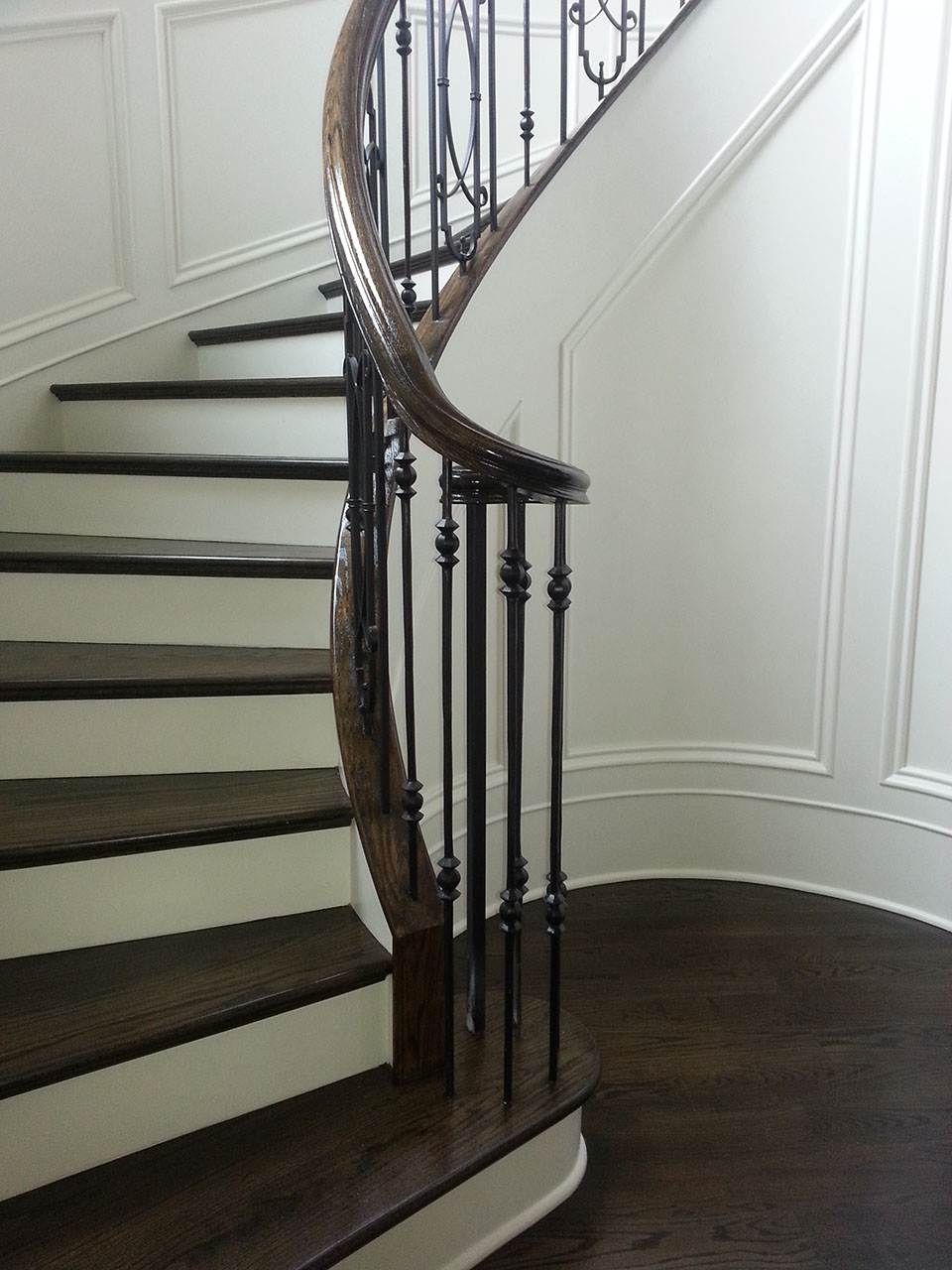 Popular stairs design custom stairs artistic stairs for Curved stair case