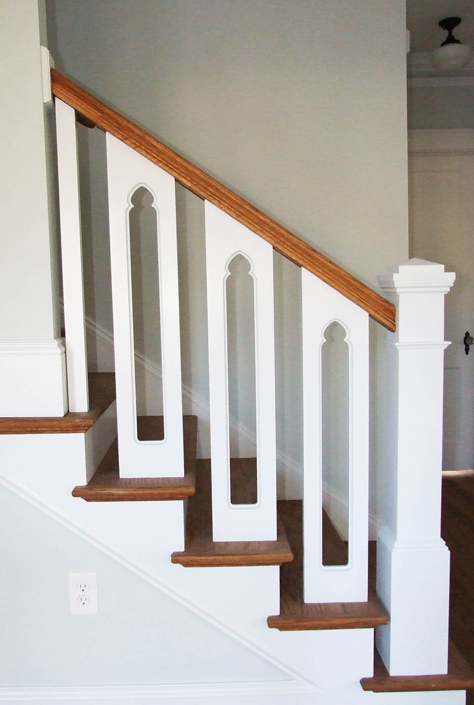 Custom Wood Stairs