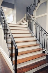 Metal Modern Railing with Metal Baluster