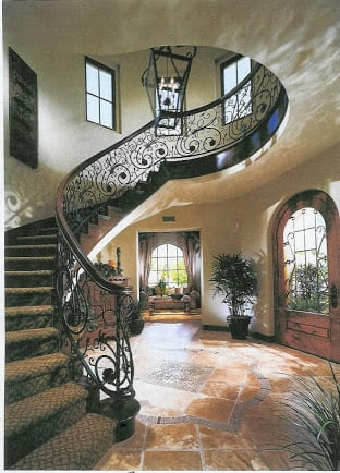 Tuscan Staircase & Railings