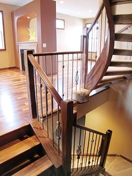 Southwestern Curved Stairs