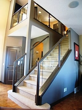 Southwestern Glass Stairs