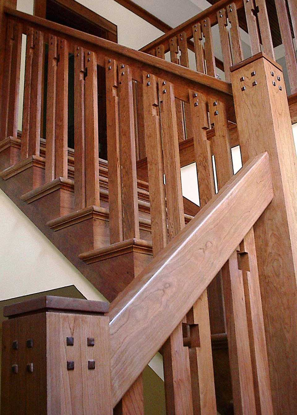 Craftsman Staircase Wooden Baluster
