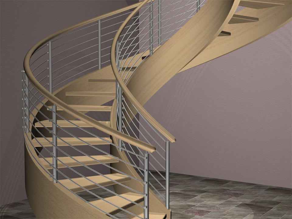 Custom Stair Rendering