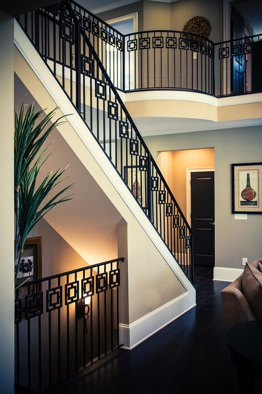 Wrought Iron Stair Railing Artistic Stairs