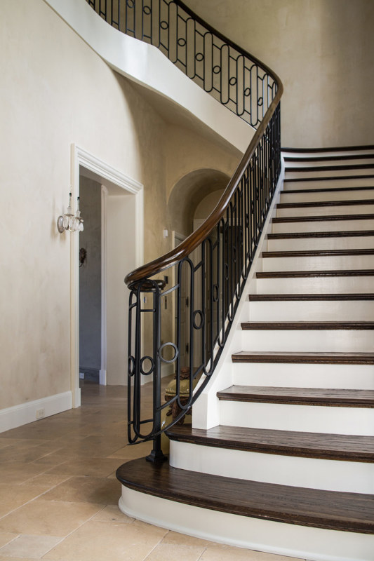 Wrought Iron Handrail Systems Artistic Stairs