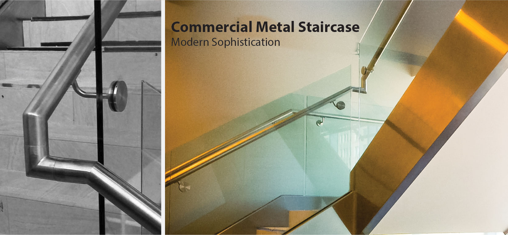 Commercial Metal Staircase
