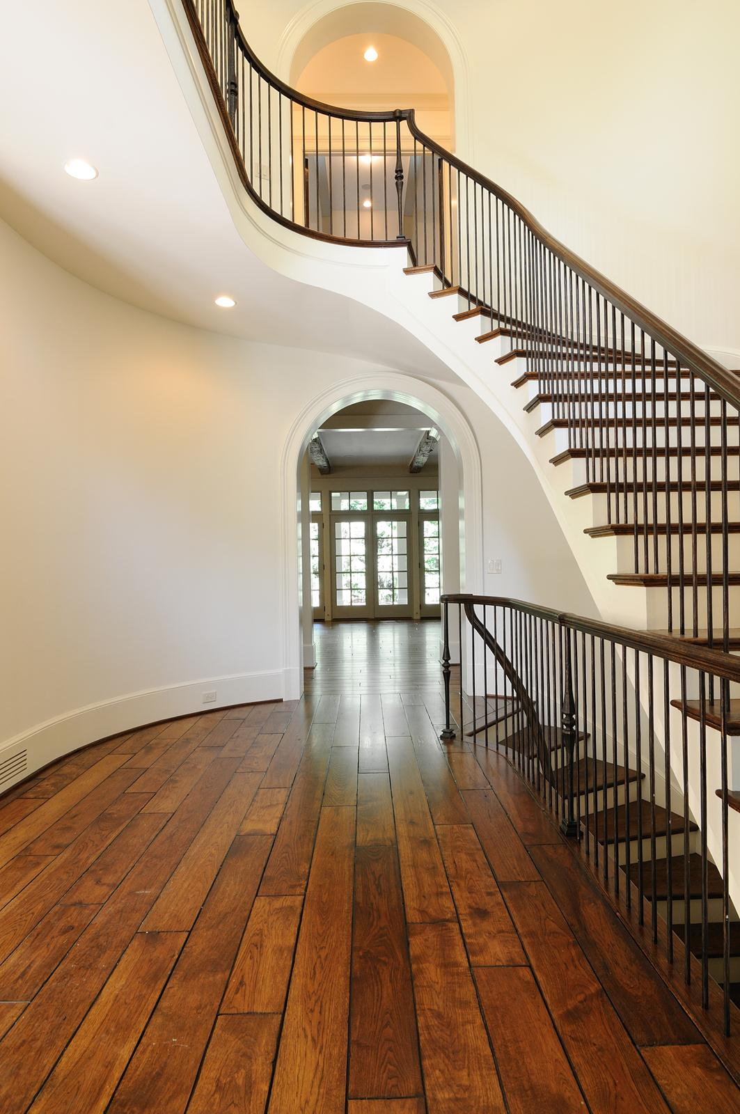 Stacked Curve Staircase