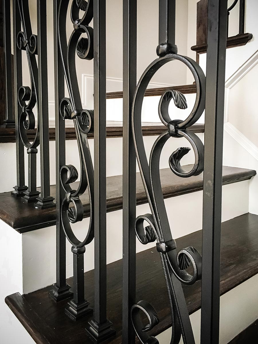 Metal Baluster | Custom Stairs | Artistic Stairs