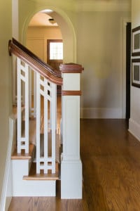 Craftsman stairs Wooden Baluster System