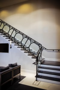wrought iron stair designs