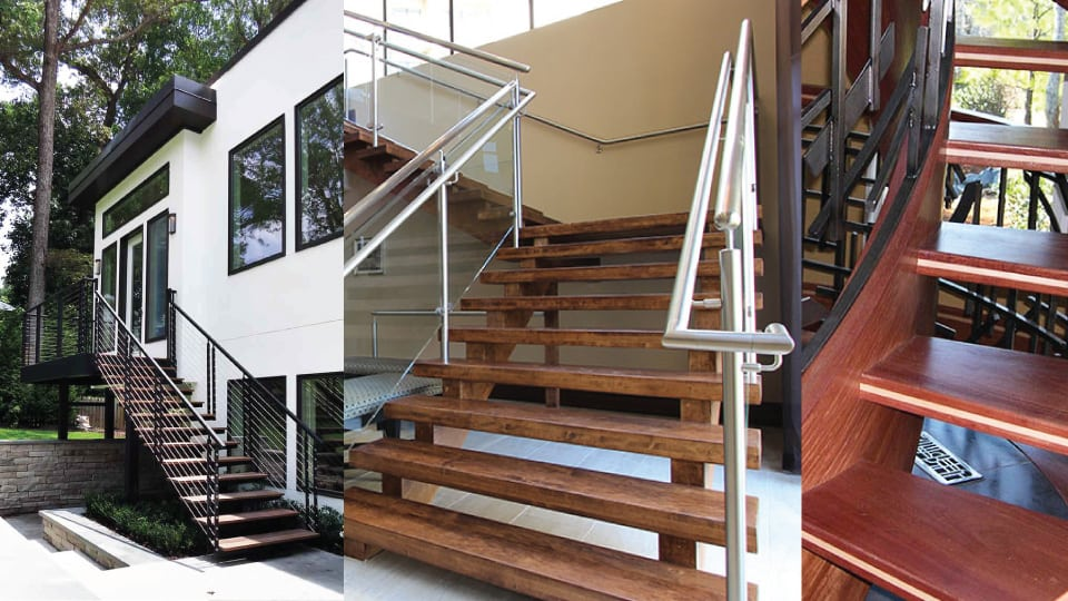 Open Riser Stairs Are Gaining Popularity