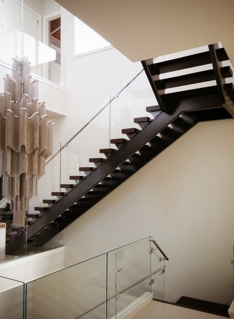 Luxury staircases residential design artistic stairs for Modern glass designs