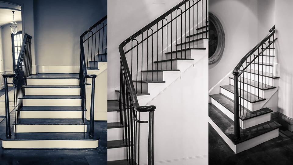Wrought Iron Stair Railing Showcase A Classic Project