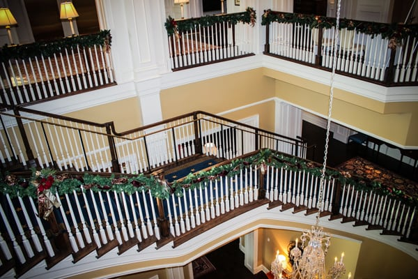 wooden baluster