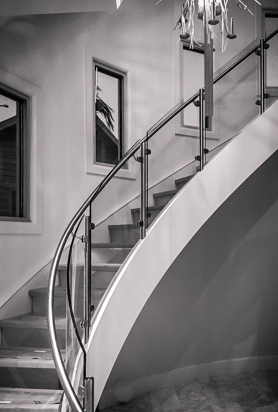 turnkey curved stairs
