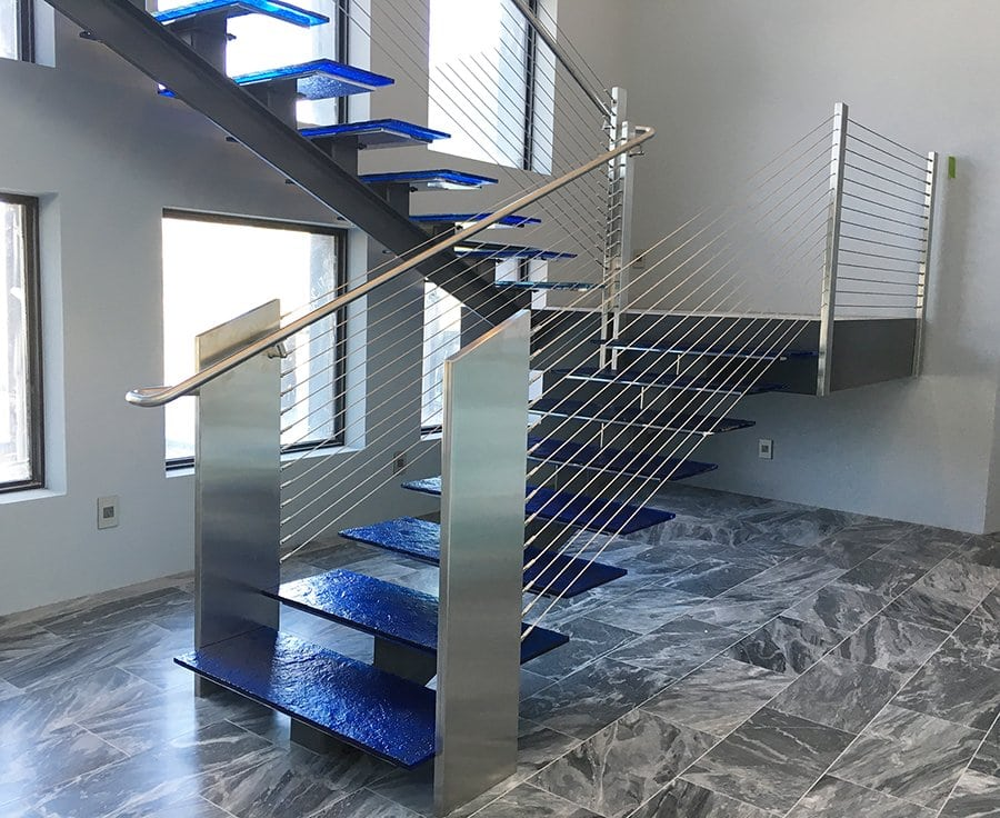 Captivating Commercial Staircase And Handrail Solutions
