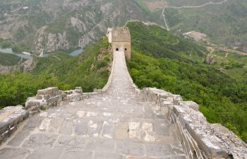 Ancient Chinese staircase architecture
