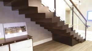 modern commercial stairs