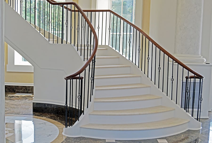 Stunning Flared Staircase Designs