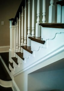 wooden baluster design