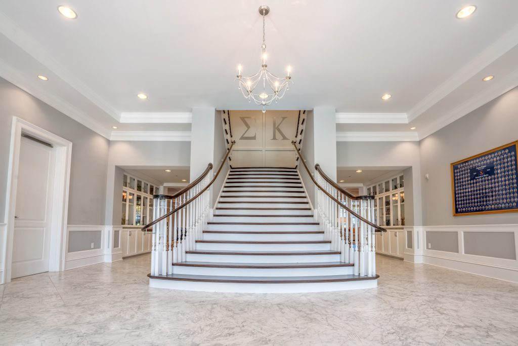 Stair Design Photo Of The Month Grand Flared Staircase
