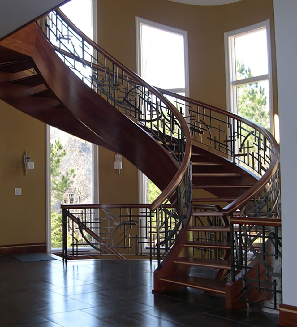 Metal Baluster, Artistic Stairs