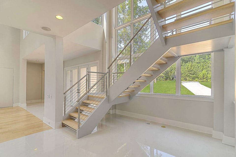 Stainless Steel Staircase Custom Steel Stairs Southern Staircase