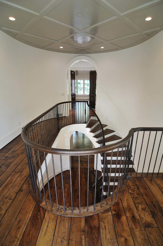 Double Open Winding Staircase
