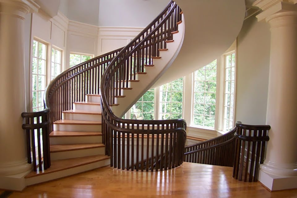 Traditional Prefabricated Stairs