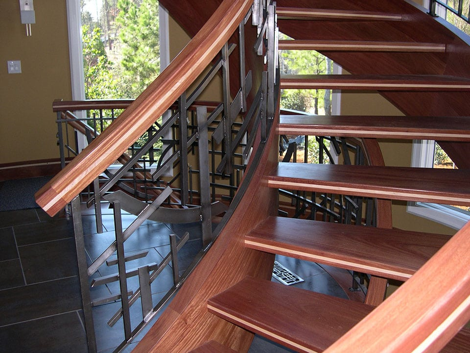 Open Riser Stairs