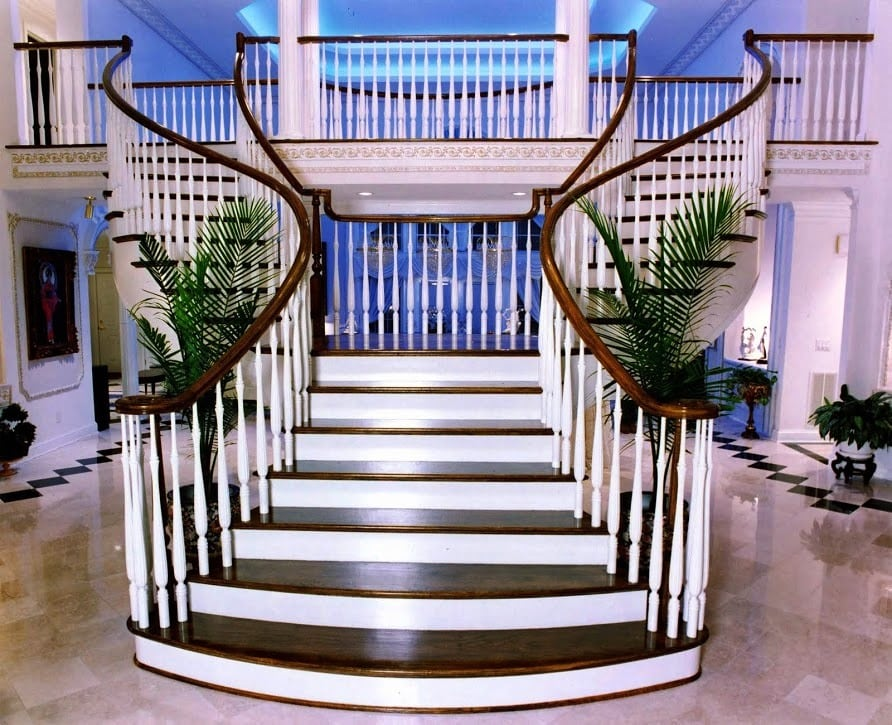 Flared Staircase Flared Stair Designs Custom Flared