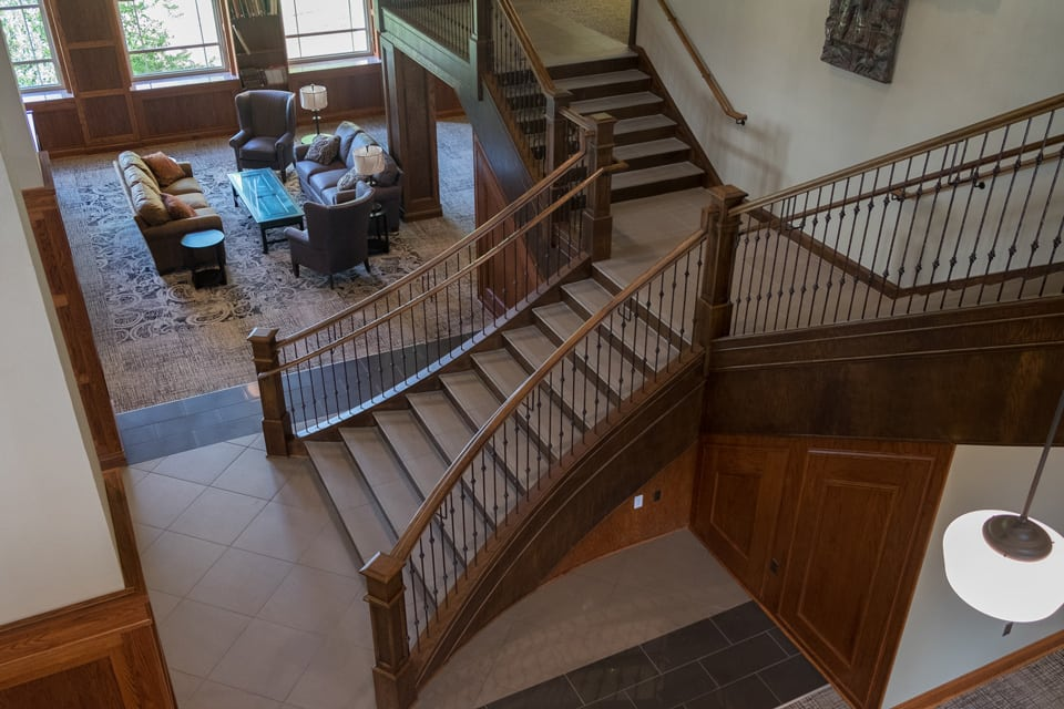 custom staircase, stairs design