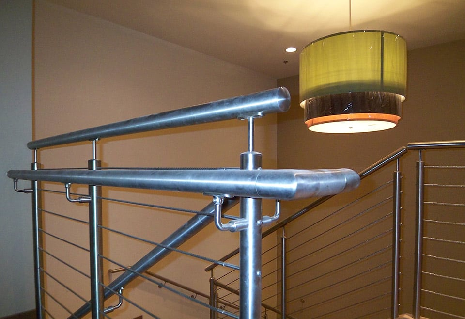 Cable Railing for Staircases