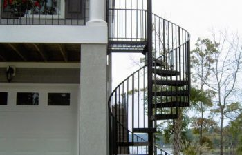exterior stairs outdoor spiral staircase