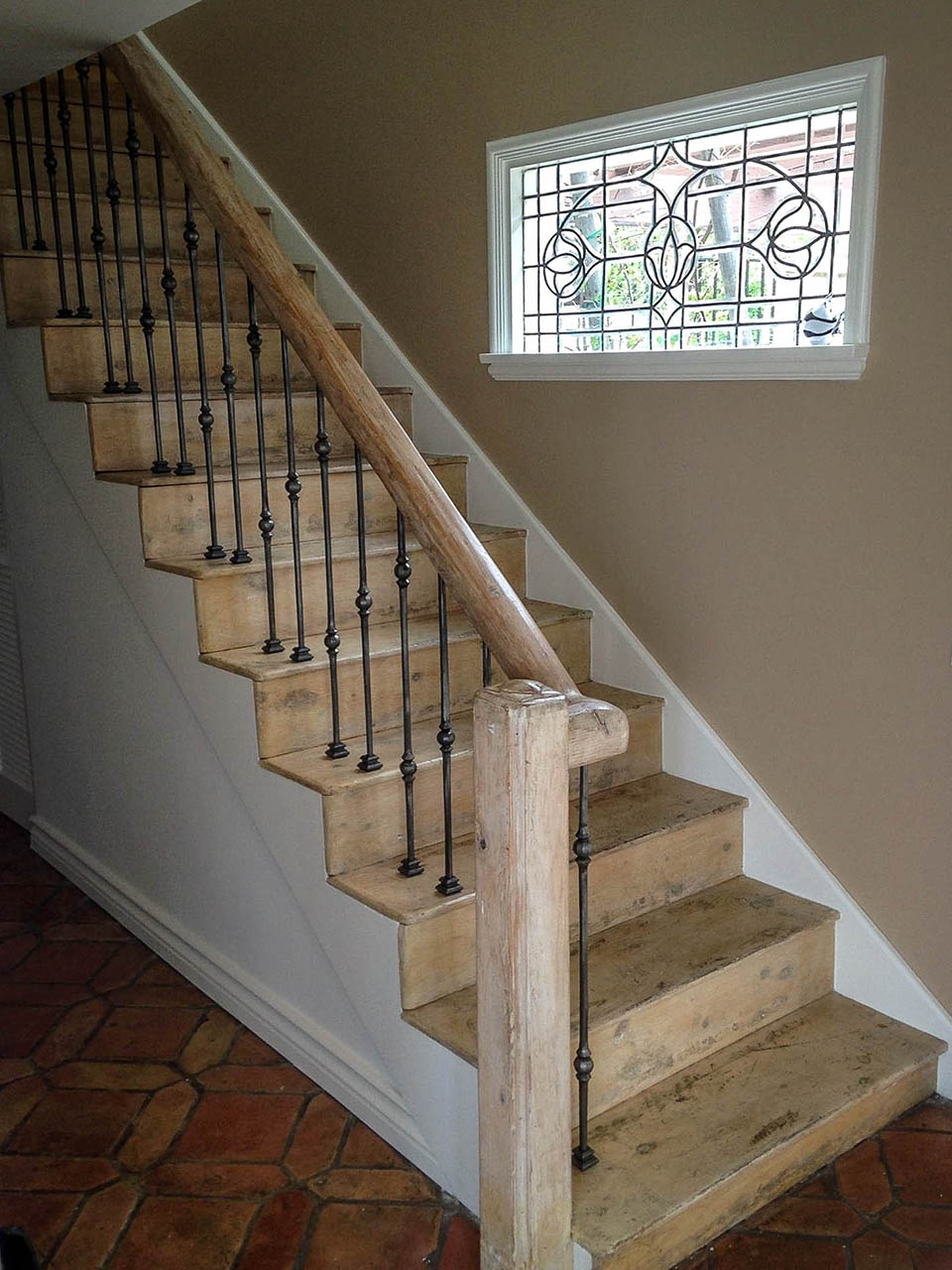 Southwestern Wrought Iron Handrail