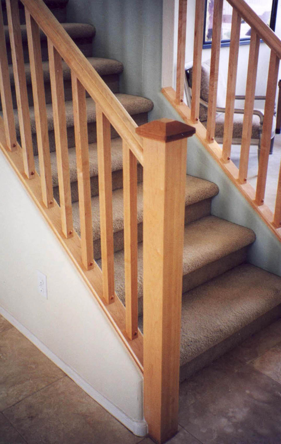 Mission Style Staircase Southern Staircase Artistic Stairs