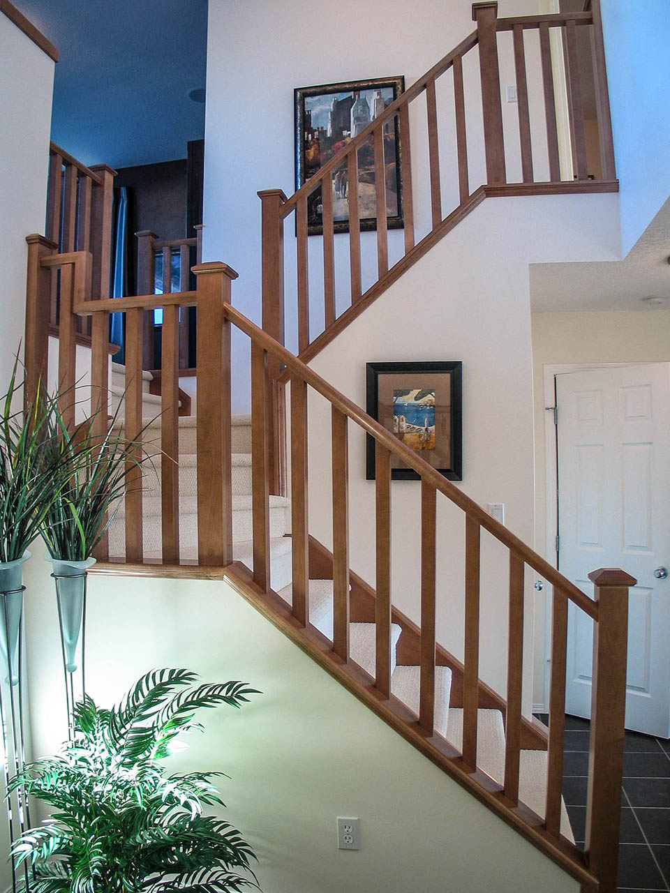Mission-Style Staircase