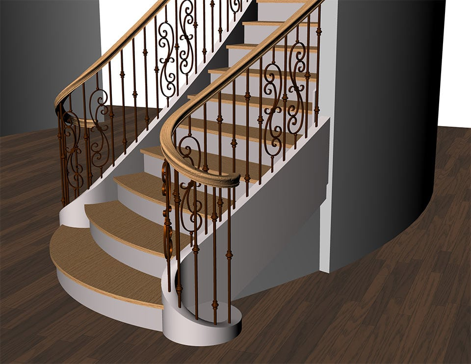 Residential Custom Stairs